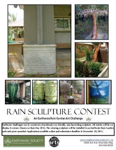 rainsculpturecontestposter