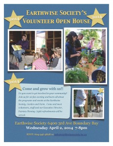 volunteer openhouse'14poster
